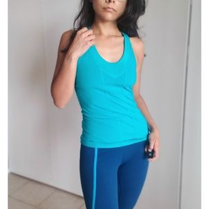 The North Face Blue Exercise Tank Top